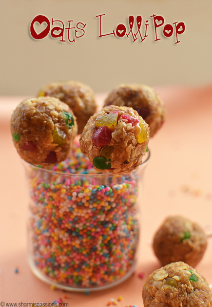 Oats Lollipop