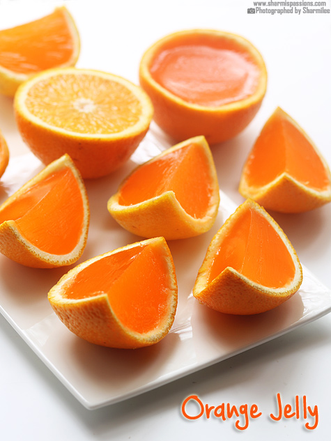 Orange Jelly Recipe