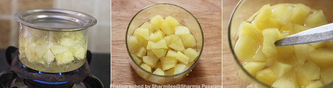 Hot to make Apple Puree for Babies - Step3