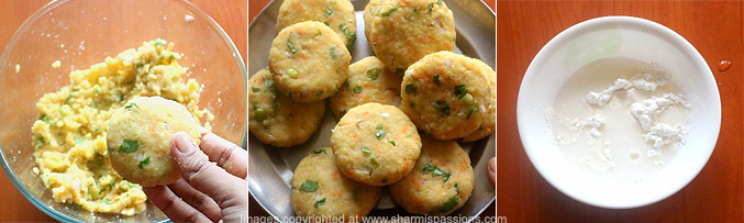 How to make POHA CUTLET RECIPE - Step3